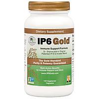 IP-6 International, IP6 Gold, формула для поддержки иммунитета, 120 капсул в растительной оболочке, купить, цена, отзывы