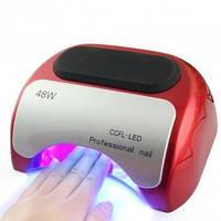 Однотонная УФ-ЛАМПА 48W ГИБРИД (CCFL+LED) для наращивания ногтей и покрытия гель-лака
