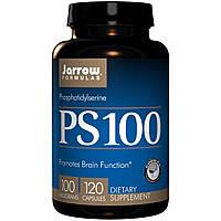 Jarrow Formulas, PS 100, Фосфатидилсерин, 100 мг, 120 капсул, купить, цена, отзывы
