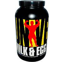 Universal Nutrition, Молочный и яичный белок, со вкусом ванили, 3 фунта (1,36 кг), купить, цена, отзывы