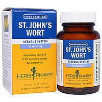 Herb Pharm, Зверобой, 460 мг, 60 вегетарианских капсул, купить, цена, отзывы