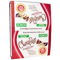 HealthSmart Foods, Inc., ШокоРайт Протеиновые батончики, Фисташки и шоколад, 12 батончиков, 2.26 унции (64 г) каждый