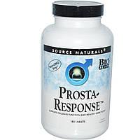 Source Naturals, Prosta-Response от простатита, 180 таблеток, купить, цена, отзывы