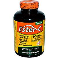 American Health, Эстер-C, 1000 мг с биофлавоноидами цитрусовых, 180 таблеток на растительной основе, купить, цена, отзывы