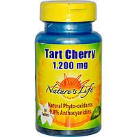 Nature's Life, Вишня, 1200 мг, 30 таблеток, купить, цена, отзывы