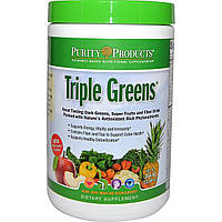 Purity Products, Тройная зелень, 14.48 унции (410.4 г)