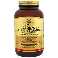 Solgar, Ester-C Plus, 500 мг, 250 капсул в растительной оболочке, купить, цена, отзывы