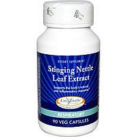 Enzymatic Therapy, Экстракт листьев крапивы, для дыхательных путей, 90 растительных капсул, купить, цена, отзывы