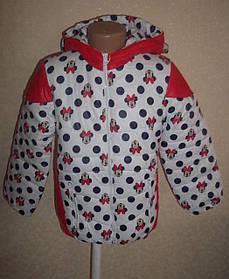 Шикарная курточка детская белая