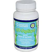 Houston Enzymes, Пептизид протеаза с ДПП-4 и целлюлозой, 90 капсул, купить, цена, отзывы