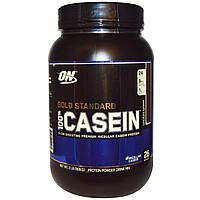 Optimum Nutrition, 100% казеин, Золотой Стандарт, шоколадный вкус, 909 г, купить, цена, отзывы
