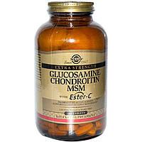 Solgar, Глюкозамин, хондроитин, метилсульфонилметан с Эстер-C, 180 таблеток, купить, цена, отзывы