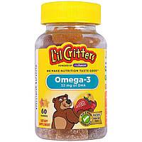 L'il Critters, Омега-3, 60 жевательных таблеток, купить, цена, отзывы
