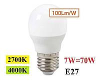 Светодиодная лампа Feron LB-195 7W G45 E27
