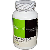 DaVinci Laboratories of Vermont, Tri-Mag 300, 120 капсул, купить, цена, отзывы