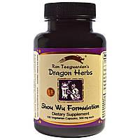 Dragon Herbs, Формула Шоу Ву 100 овощных капсул, купить, цена, отзывы