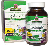 Nature's Answer, Очанка, 800 мг, 90 вегетарианских капсул, купить, цена, отзывы