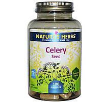 Nature's Herbs, Семя сельдерея, 100 капсул, купить, цена, отзывы