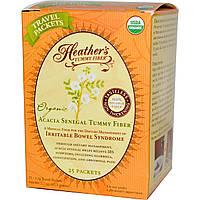 Heather's Tummy Care, Волокна для улучшения пищеварения, Органические волокна акации сенегальской, 1 чайный пакет, купить, цена, отзывы