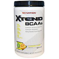 Scivation, Аминокислоты с разветвленной цепью (BCAA) для наращивания мышечной массы, Лимон+Лайм, 431 г (15,2 унций), купить, цена, отзывы
