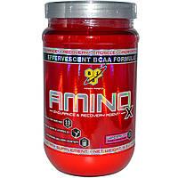 BSN, Амино X, шипучий состав с BCAA, со вкусом арбуза, 15.3 унций (435 г), купить, цена, отзывы