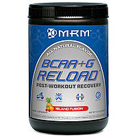 MRM, Спортивная добавка BCAA+G для быстрого восстановления после тренировок, 11.6 унций (330 г), купить, цена, отзывы