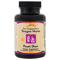 Dragon Herbs, Pearl Shen, 500 мг, 100 растительных капсул, купить, цена, отзывы