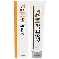 Azelique, Антивозрастная маска с активированным углем & глиной, с азелаиновой кислотой, выводит токсины и успокаивает кожу, без парабенов, без,