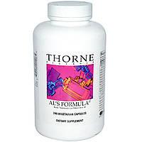 Thorne Research, Al's Formula, основные питательные вещества для мужчин за 40, 240 растительных капсул, купить, цена, отзывы