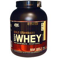 Optimum Nutrition, Gold Standard 100% Whey, ванильное мороженое, 5lb (2,27 кг), купить, цена, отзывы