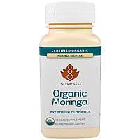 Savesta, Натуральные витамины и минералы, органическая моринга, 60 вегетарианских капсул