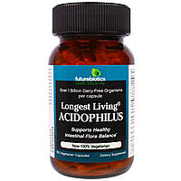 FutureBiotics, Живые ацидофильные бактерии, 100 растительных капсул, купить, цена, отзывы
