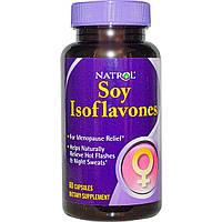 Natrol, Изофлавоны сои, 60 капсул, купить, цена, отзывы