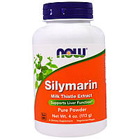 Now Foods, Силимарин, чистый порошок, 4 унции (113 г)