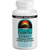 Source Naturals, Экстракт зеленого чая, 60 таблеток, купить, цена, отзывы