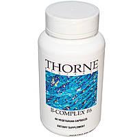 Thorne Research, Комплекс витаминов группы B №6, 60 капсул, купить, цена, отзывы