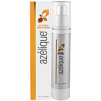 Azelique, Омолаживающий ночной крем с азелаиновой кислотой, увлажняющий и способствующий впитыванию влаги. Не содержит парабенов и сульфатов. 1,7,