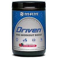 MRM, Driven, Формула перед тренировкой, без сахара, ягодный микс, 12.3 унции (350 г), купить, цена, отзывы