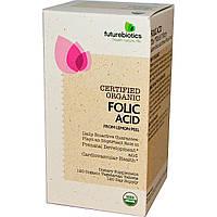 FutureBiotics, Фолиевая кислота из шкурок лимона, 120 органических вегетарианских таблеток, купить, цена, отзывы