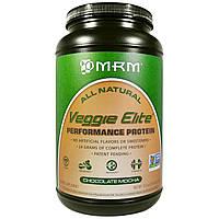 MRM, MRM, Veggie Elite, белок для повышения производительности, со вкусом шоколадного мокко, 2,4 фунта (1110 г), купить, цена, отзывы