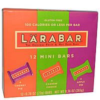Larabar, Батончики в индивидуальной упаковке, 12 маленьких батончиков, каждый по 0,78 унций (22 г), купить, цена, отзывы
