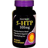 Natrol, 5-HTP (5-гидрокситриптофан), 100 мг, 30 капсул