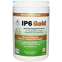 IP-6 International, IP6 Gold, Формула для поддержки иммунитета, Вкус тропических фруктов, Порошок, 414 г, купить, цена, отзывы
