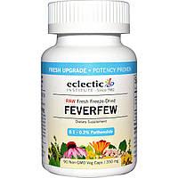 Eclectic Institute, Пиретрум девичий, 350 мг, 90 растительных капсул без ГМО, купить, цена, отзывы