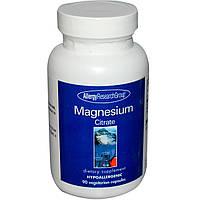 Allergy Research Group, Магния цитрат, 90 растительных капсул, купить, цена, отзывы