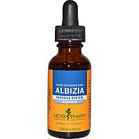 Herb Pharm, Альбиция, вручную собранная кора, 1 жидкая унция (29,6 мл), купить, цена, отзывы