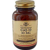 Solgar, ВегетарианскаийCoQ-10 90 овощных капсул, купить, цена, отзывы