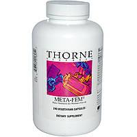 Thorne Research, Meta-Fem, 240 вегетарианских капсул, купить, цена, отзывы