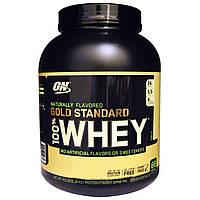 Optimum Nutrition, 100% натуральный вкус Whey Gold Standard, ваниль, 2,18 кг, купить, цена, отзывы