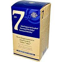Solgar, No 7, для комфорта и поддержки суставов, 90 капсул на растительной основе, купить, цена, отзывы